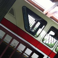 Photo taken at Monorail Red by Vanessa M. on 6/29/2013