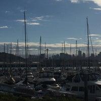 Photo taken at Elliott Bay Marina by Jon K. on 9/27/2016