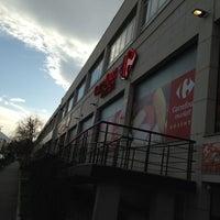 Photo taken at Carrefour by Gennadiy V. on 4/12/2013