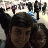 Photo taken at 秦皇岛站 Qinhuangdao Railway Station by Emko M. on 11/1/2014