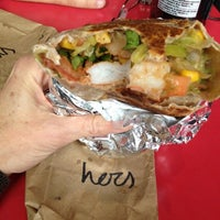Photo taken at Burrito Boyz by Elissa F. on 12/6/2012