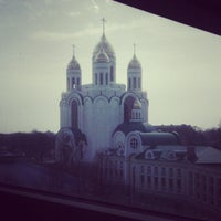 Photo taken at Кафедральный Собор Христа Спасителя by Miledi L. on 4/26/2013