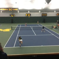 Photo taken at University of Michigan Varsity Tennis Center by Chow Down Detroit on 3/28/2015