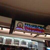 Photo taken at Philadelphia Cheesesteak Factory by Rafał R. on 10/5/2013