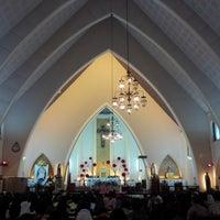 Photo taken at Gereja Katolik Katedral Santa Perawan Maria Dari Gunung Karmel by Agustinus R. on 6/3/2016
