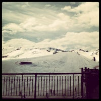 Photo taken at Valle Nevado by Glaucia P. on 9/24/2012