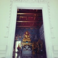 Photo taken at Wat Kaew Korawaram by Luvvy K. on 9/24/2013