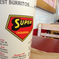 Photo taken at Super Taqueria by Ivan R. on 1/26/2013