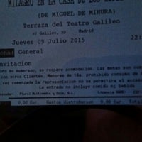 Photo taken at Teatro Galileo by Related M. on 7/9/2015