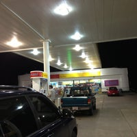Photo taken at Shell by Cliff T. on 1/3/2013