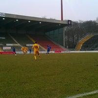 Photo taken at Grotenburg-Stadion by Samla Fotoagentur w. on 4/10/2013