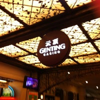 Photo taken at Casino de Genting by Tia N. on 12/31/2012