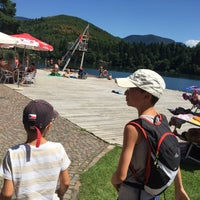 Photo taken at Großer Montiggler See / Lago Grande di Monticolo by Sandro S. on 7/31/2015