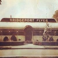 Photo taken at Bridgeport Flyer Diner by Sarah on 9/17/2012