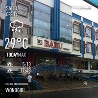 Photo taken at Toserba Baru Wonogiri by Mohammad Raihan M. on 12/14/2013