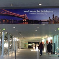 Photo taken at Brisbane International Terminal by Dave E. on 10/11/2012