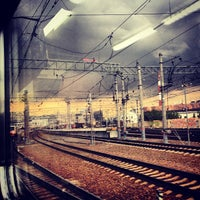 Photo taken at Kursky Rail Terminal by Хельга С. on 8/29/2013