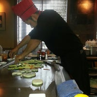 Photo taken at Wasabi Japanese Steakhouse & Sushi Bar by Mike P. on 5/17/2013