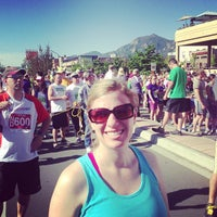 Photo taken at Bolder Boulder 10K Race by Mike P. on 5/27/2013