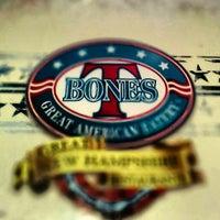 Photo taken at T-Bones Great American Eatery by Geoffrey Z. on 4/20/2014