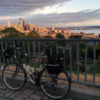 Photo taken at Kerry Park by Paul M. on 8/20/2014