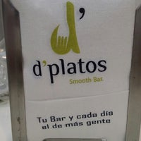 Photo taken at D'platos by Raúl M. on 4/23/2014