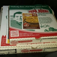 Photo taken at Papa John's Pizza by Devlin S. on 5/9/2014