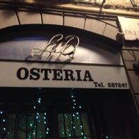 Photo taken at Osteria Nonna Gina by Simona S. on 1/4/2014