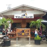 Photo taken at Tita's Grill by keisuke74327 on 5/14/2013