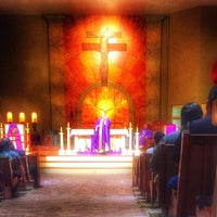 Photo taken at Holy Spirit Catholic Parish of McAllen by Myssie C. on 2/21/2016