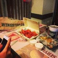 Photo taken at Wingstop by Byron N. on 10/24/2013
