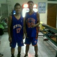 Photo taken at Lapangan Basket Duren Sakti by Kelvin Tirta S. on 4/24/2013