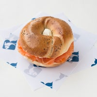 Photo taken at Russ & Daughters by Travel + Leisure on 4/2/2013
