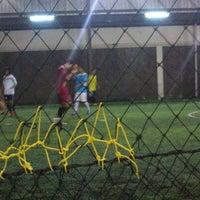 Photo taken at Lampung Futsal by Rizki F. on 1/22/2014