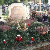 Photo taken at Kommunalfriedhof by Gitti J. on 12/18/2015