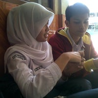Photo taken at SMA Negeri 24 Bandung by Reynaldo A. on 3/6/2014