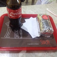 Photo taken at Sipote Burrito by Damian R. on 11/27/2013