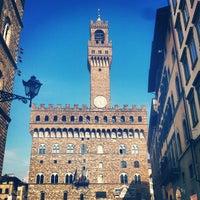 Photo taken at Piazza della Signoria by Philipp V. on 7/21/2013