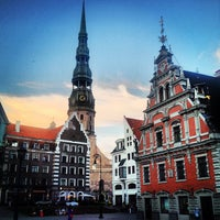 Photo taken at The Town Hall Square by Andriy R. on 7/3/2013