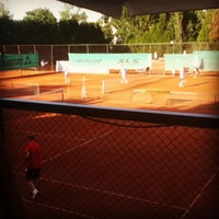 Photo taken at Tennis Club 1882 by Aleksandar I. on 6/18/2013