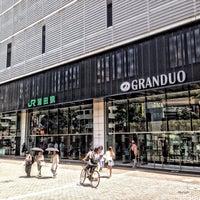 Photo taken at GRANDUO Kamata by nag on 8/2/2014