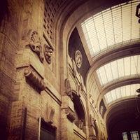 Photo taken at Stazione Milano Centrale by Sara T. on 6/11/2013