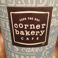 Photo taken at Corner Bakery Cafe by ESTHER on 1/12/2013