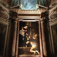 Photo taken at Basilica di Sant'Agostino in Campo Marzio by Natali M. on 9/1/2013
