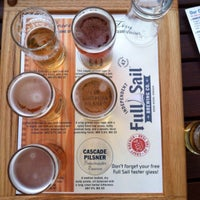 Photo taken at Full Sail Brewing Co. by Tony G. on 9/4/2014