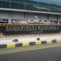 Photo taken at Bandara Radin Inten II Lampung Selatan (TKG) by Ludi S. on 2/3/2015