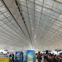 Photo taken at Paris Charles de Gaulle Airport (CDG) by Tatyana D. on 7/25/2013