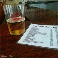 Photo taken at Bar La Moderna by Manu F. on 9/20/2013