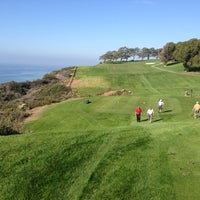 Photo taken at Torrey Pines Golf Course by Lambizzo on 12/11/2012