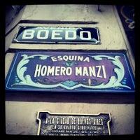 Photo taken at Esquina Homero Manzi by Ariel C. on 7/12/2013
